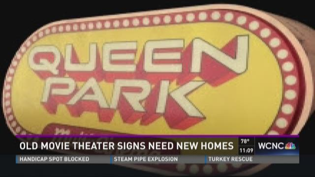 Old movie theater signs need new homes