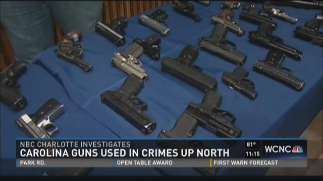 Carolina guns used in crimes up north