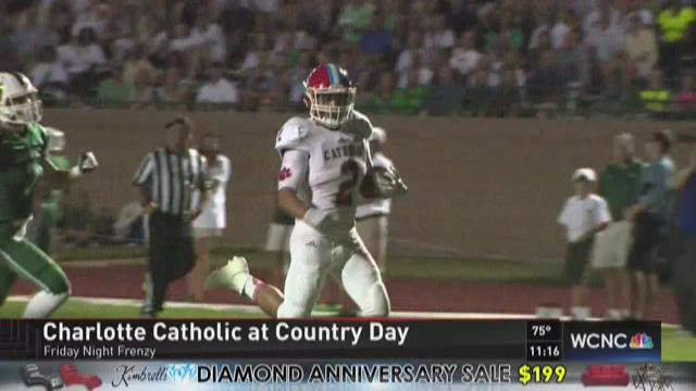 Charlotte Catholic rolls in Cook Cup Classic