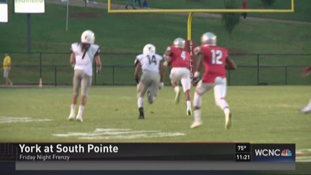 South Pointe tackles York