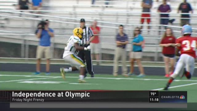 Independence topples Olympic