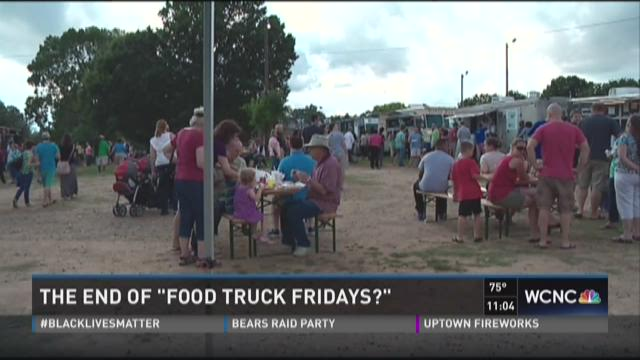 The end of 'Food truck Fridays?'