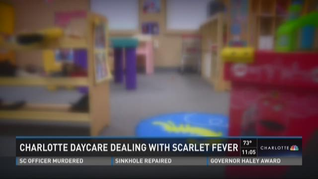 Charlotte daycare dealing with Scarlet fever
