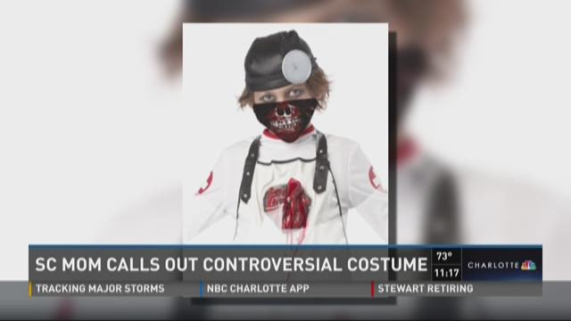 SC mom calls out controversial costume