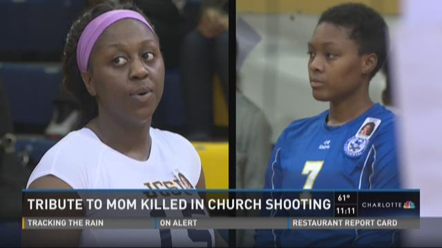 Tribute to mom killed in church shooting