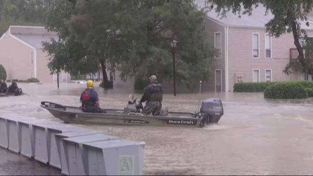 Historic flooding devastates Columbia