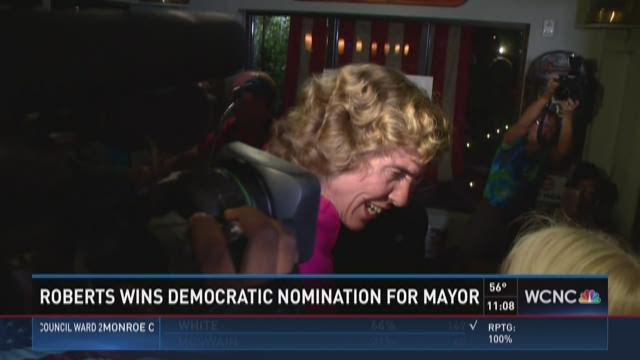 Roberts wins democratic nomination for mayor