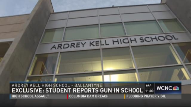 Exclusive: Student reports gun at Ardrey Kell High School