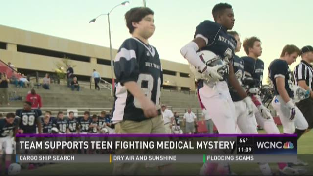 Team supports teen fighting medical mystery