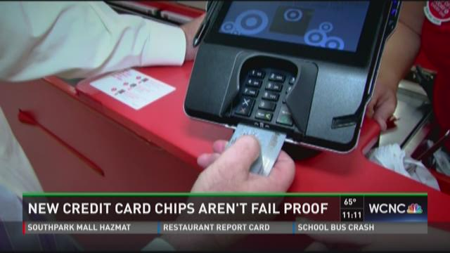 New credit card chips aren't fail proof