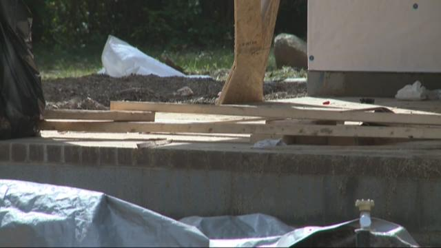 Thieves target Habitat For Humanity build materials