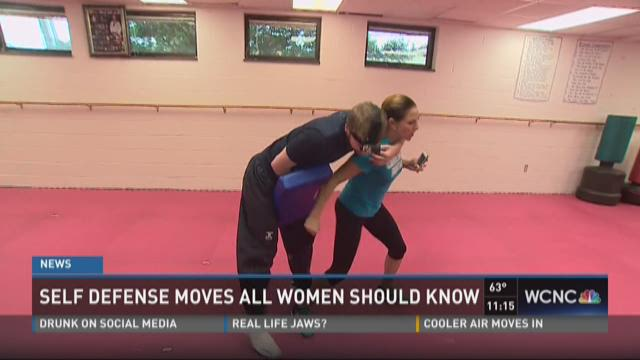 Self defense moves all women should know