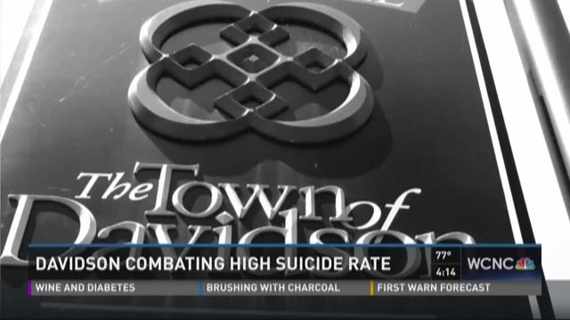 Davidson combating high suicide rate