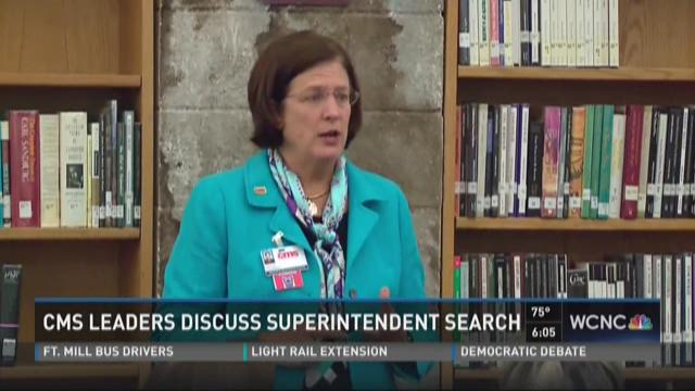 CMS leaders discuss superintendent search