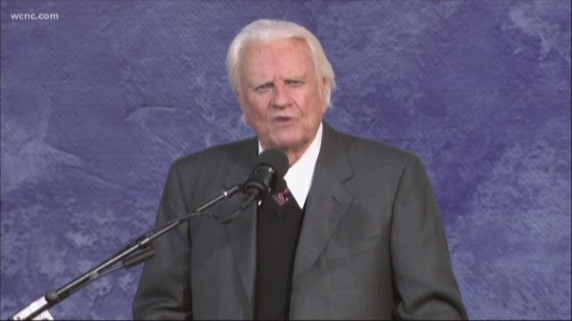 Rev. Billy Graham to lie in honor at U.S. Capitol Rotunda